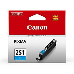 Canon CLI 251 Cyan Ink Tank