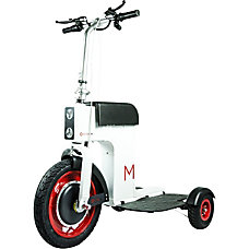 Acton M Scooter White
