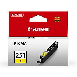 Canon CLI 251 Yellow Ink Tank