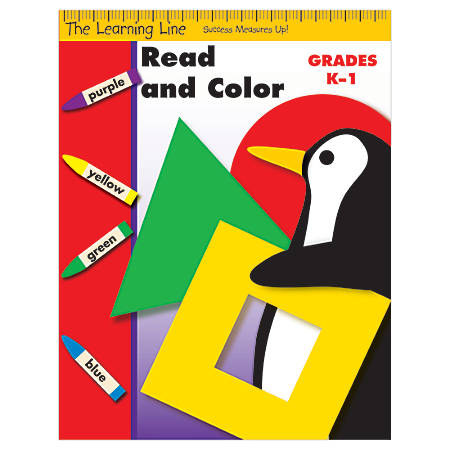 Evan-Moor® Learning Line: Read And Color, Grades K-1