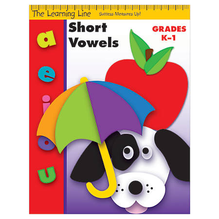 Evan-Moor® Learning Line: Short Vowels, Grades K-1