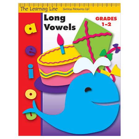 Evan-Moor® Learning Line: Long Vowels, Grades 1-2