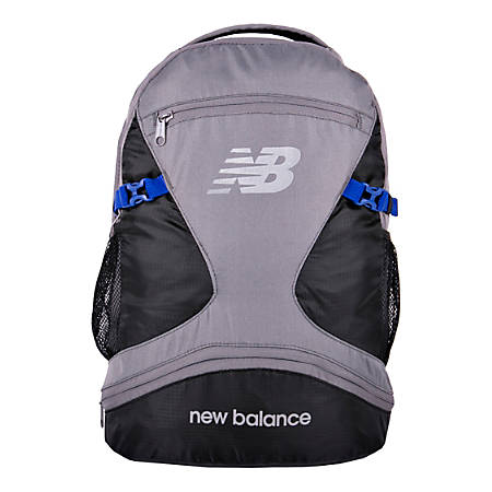 952ee887d15db New Balance Champ Backpack With 17 Laptop Pocket Gunmetal - Office Depot