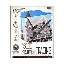 Borden Riley No 51H Parchment Tracing