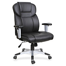 Lorell High Back Bonded Leather Executive