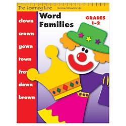 Evan Moor Learning Line Word Families