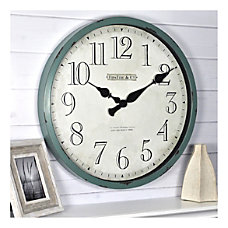 FirsTime Co Bellamy Round Wall Clock