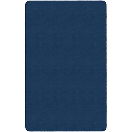 "Flagship Carpets Americolors Area Rug, Rectangle, 7' 6"" x 12', Royal Blue"