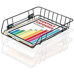 Office Depot Brand Interlocking Desk Tray