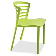 Safco Entourage Stack Chair Grass qty