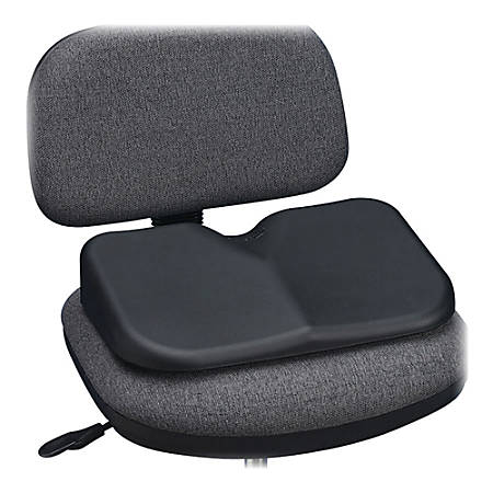 "Safco Softspot Seat Cushion, 3""H x 15 1/2""W x 10""D, Black"