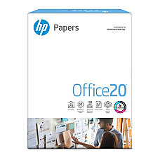 HP Office Paper Letter Size Paper