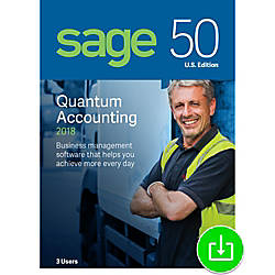 Sage 50 Quantum Accounting 2018 US