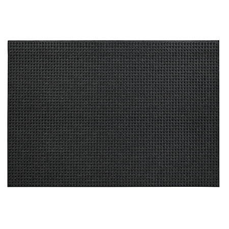 "Waterhog Lift Truck Floor Mat, 48"" x 72"", Red/Black"
