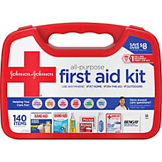 Johnson Johnson All Purpose First Aid