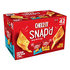 Cheez It Snapd Cheesy Baked Snacks