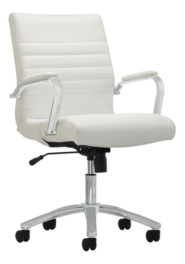 Use + and - keys to zoom in and out arrow keys move the zoomed portion of the image  sc 1 st  Office Depot & Realspace Modern Comfort Winsley Chair White - Office Depot