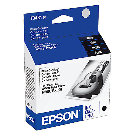 Epson® T0481 (T048120) Black Ink Cartridge