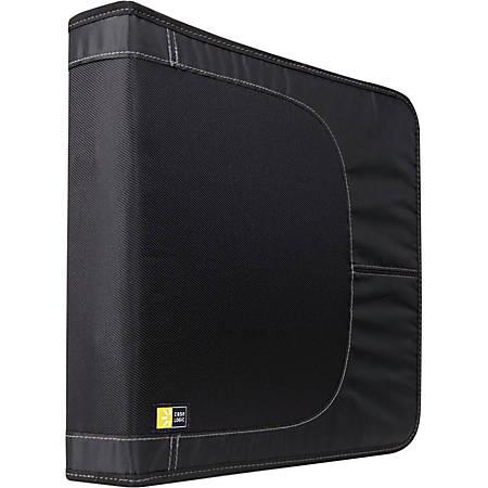Case Logic 144 Capacity CD Wallet - Wallet - Nylon - 144 CD/DVD