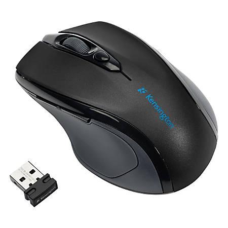 Kensington® Pro Fit™ Mid-Size Wireless Mouse, Black