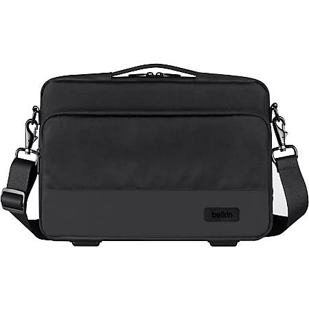 "Belkin Air Protect Carrying Case (Sleeve) 14"" Notebook - Shock Absorbing, Damage Resistant Interior, Drop Resistant Interior, Tear Resistant, Wear Resistant - Shoulder Strap, Handle x 6.9"" Width"