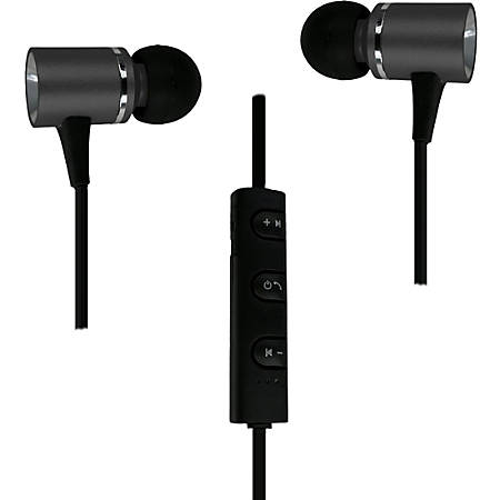 Morpheus 360 Wireless Metal Bluetooth Earbuds EB3500 Series - Stereo - Wireless - Bluetooth - 32.8 ft - 16 Ohm - 20 Hz - 22 kHz - Earbud - Binaural - In-ear - Omni-directional Microphone - Black