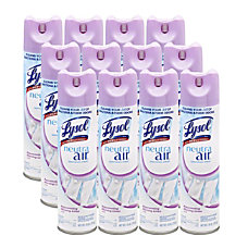 Lysol Linen Scent Air Sanitizer Spray