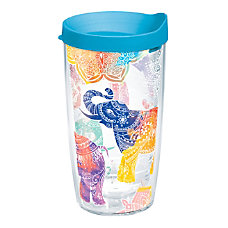 Tervis Mehndi Elephants Tumbler With Lid