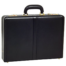 McKleinUSA REAGAN Attache Case Black