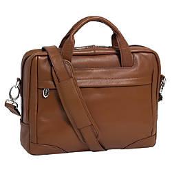 McKleinUSA MONTCLARE Laptop Brief Brown