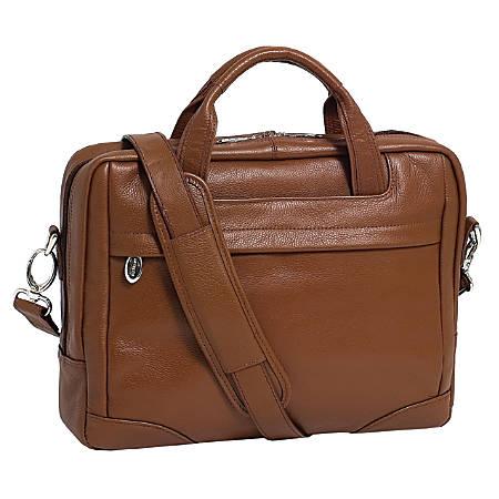 McKleinUSA MONTCLARE Laptop Brief, Brown