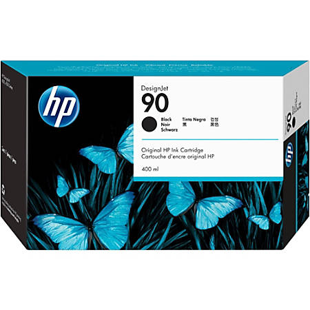 HP 90, Black Ink Cartridge (C5058A)