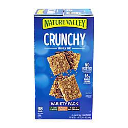 Nature Valley Crunchy Granola Bars Box