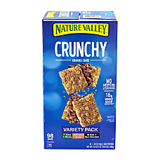 Nature Valley Crunchy Granola Bars Box