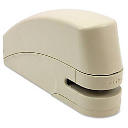 X ACTO Personal Electronic Stapler Beige