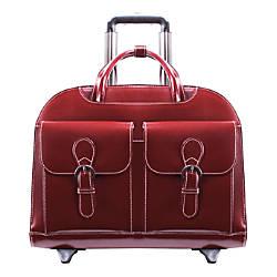 McKleinUSA Davis Briefcase Red