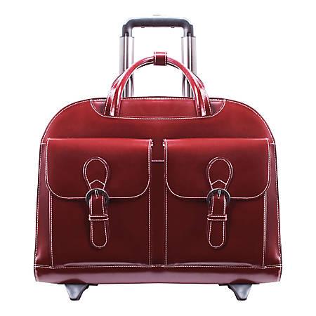 McKleinUSA Davis Briefcase, Red
