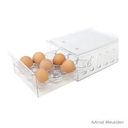 Mind Reader Stackable 12 Egg Storage