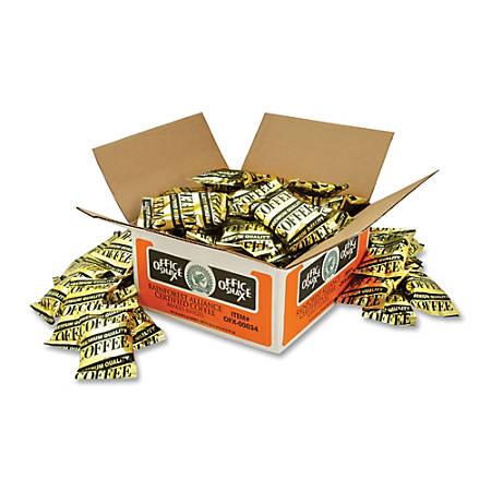 Office Snax® Pure Arabica Coffee, 1.5 Oz., Carton Of 63 Bags