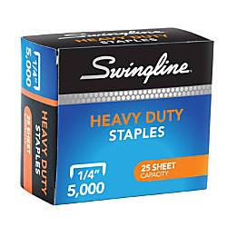 Swingline Heavy Duty Staples 14 Box