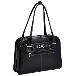 McKleinUSA MAYFAIR Ladies Laptop Case Black