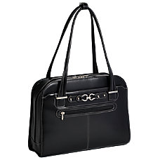 McKleinUSA MAYFAIR Ladies Laptop Case Black