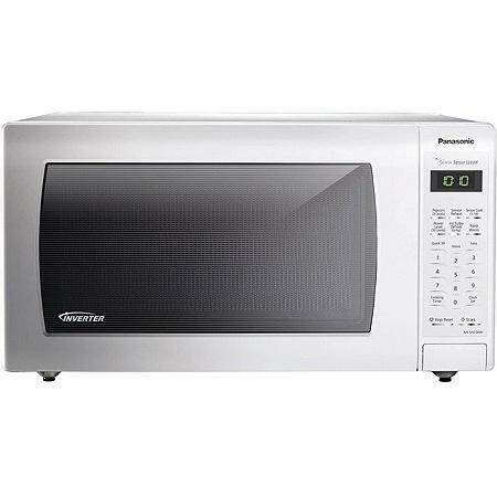 Panasonic Nn Sn736w Microwave Oven Single 11 97 Gal Capacity 10 Levels 1250 W 15 Turntable 120 V Ac