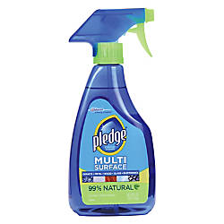 Pledge Multi Surface Cleaner Trigger Bottle