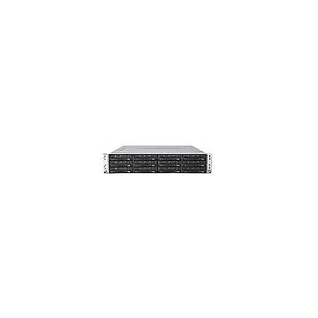 Supermicro SuperServer 6026TT-GIBQRF Barebone System - 2U Rack-mountable - Intel 5520 Chipset - Socket B LGA-1366 - 2 x Processor Support - Black