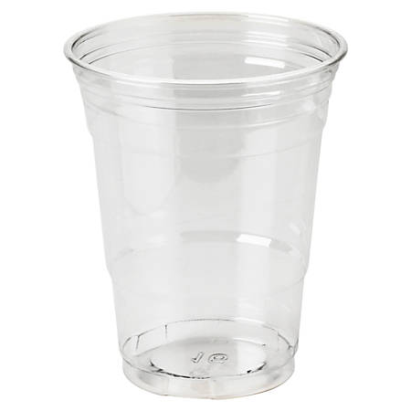 Dixie® Crystal Clear Plastic Cups, 16 Oz, Box Of 500 Cups
