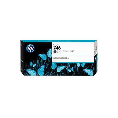 HP 746 300-mL Matte Black Ink Cartridge (P2V83A)