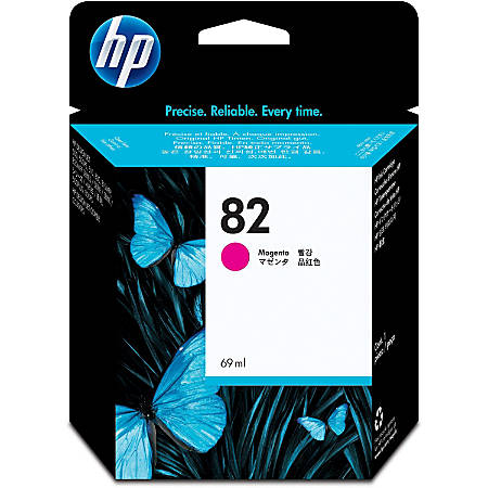 HP 82, Magenta Ink Cartridge (C4912A)