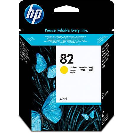 HP 82, Yellow Ink Cartridge (C4913A)