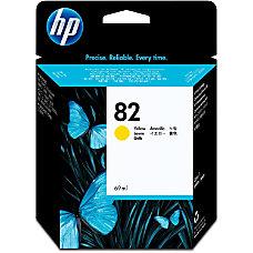 HP 82 Yellow Ink Cartridge C4913A